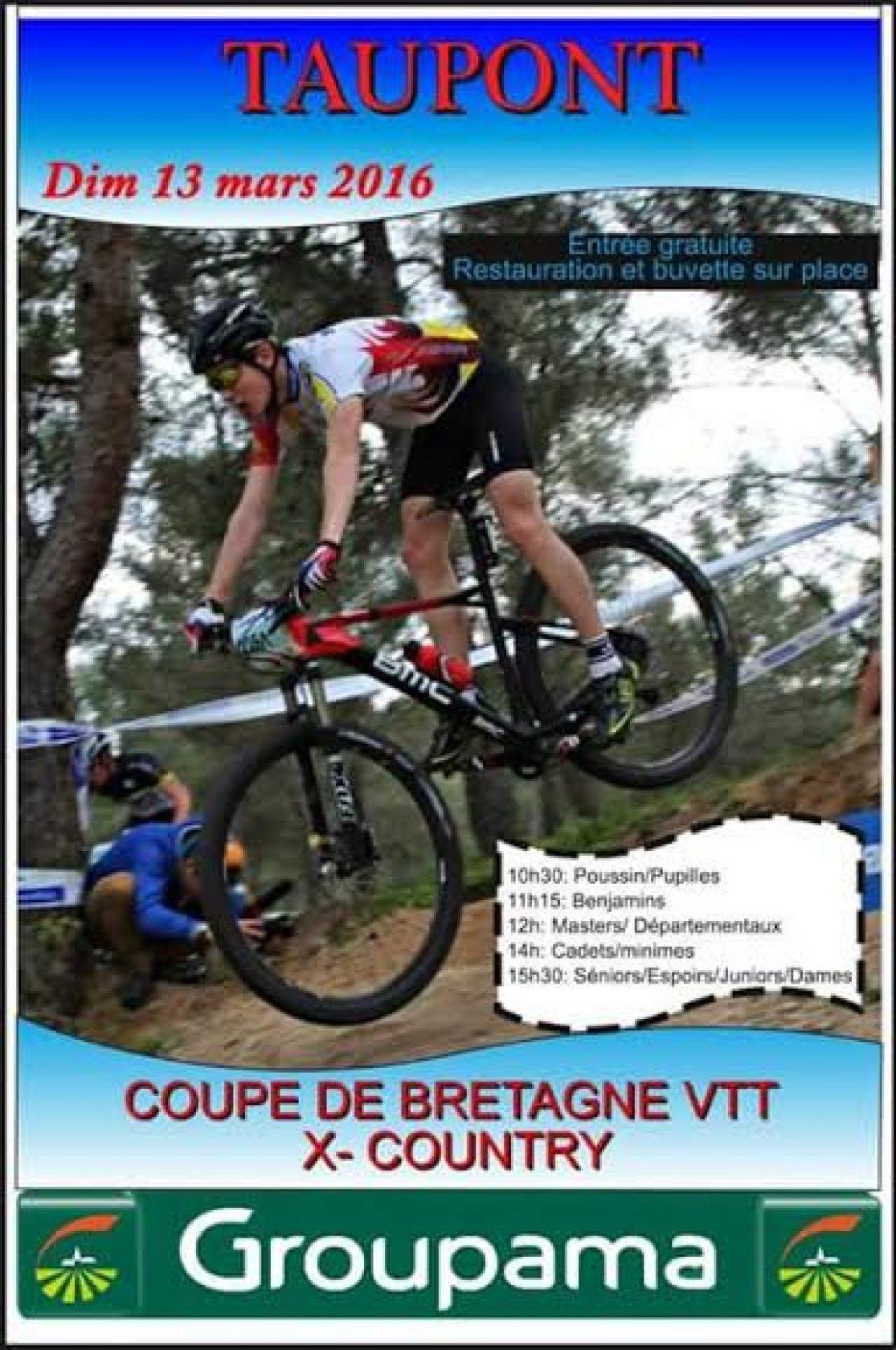 Coupe de bretagne de vtt xc ouverture taupont 56 - Coupe de bretagne seniors ...