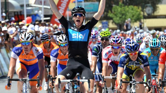 Santos Tour Down Under : Swift au sprint, Feillu 4e