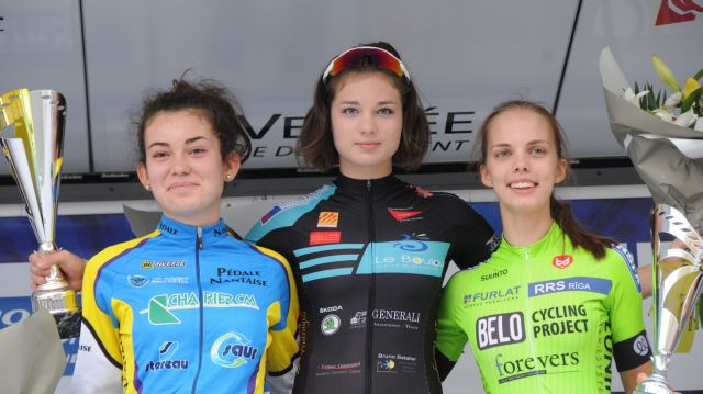 Chrono des Nations Cadettes:  Cushing victorieuse