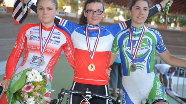 Poursuite Individuelle Juniors Dames : Gérard championne de France