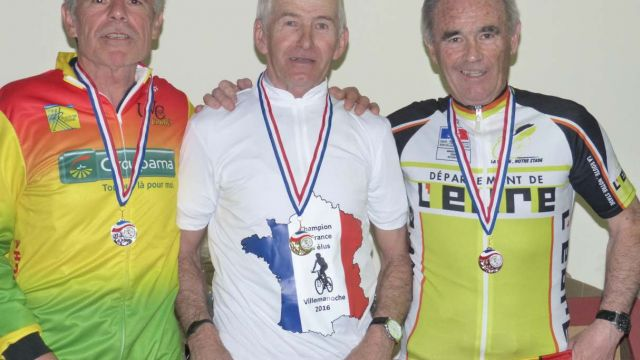 Un costarmoricain champion de France des élus
