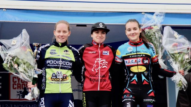 Coupe de France CX #2 / Dames: Onesti