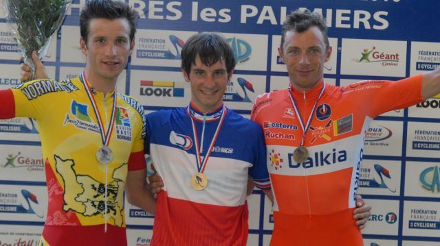 Kneisky champion de France de la course aux points