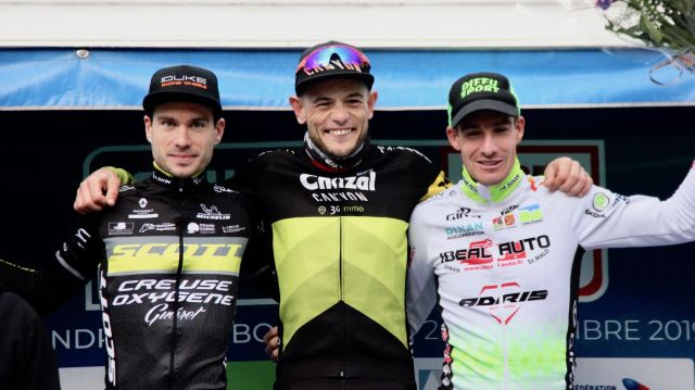 Coupe de France CX #2 / Elites: Boulo sur le podium