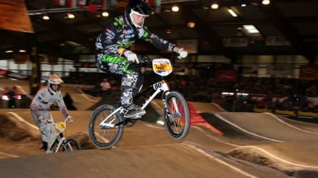 Le BMX TREGUEUX à l'indoor international de Saint Etienne