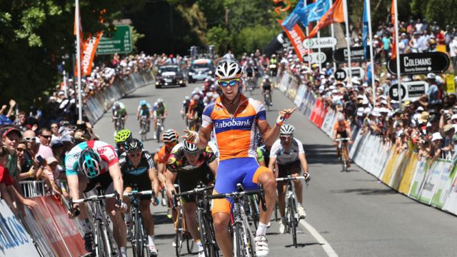 Santos Tour Down Under : Matthews 1ère, Goss nouveau leader
