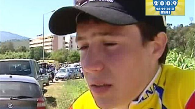 Tour de Corse 2009 : Cyril Vincenti leader !