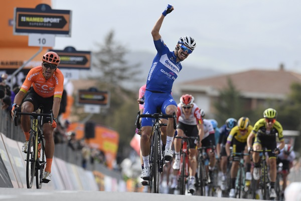 Tirreno-Adriatico # 2 : Alaphilippe intraitable