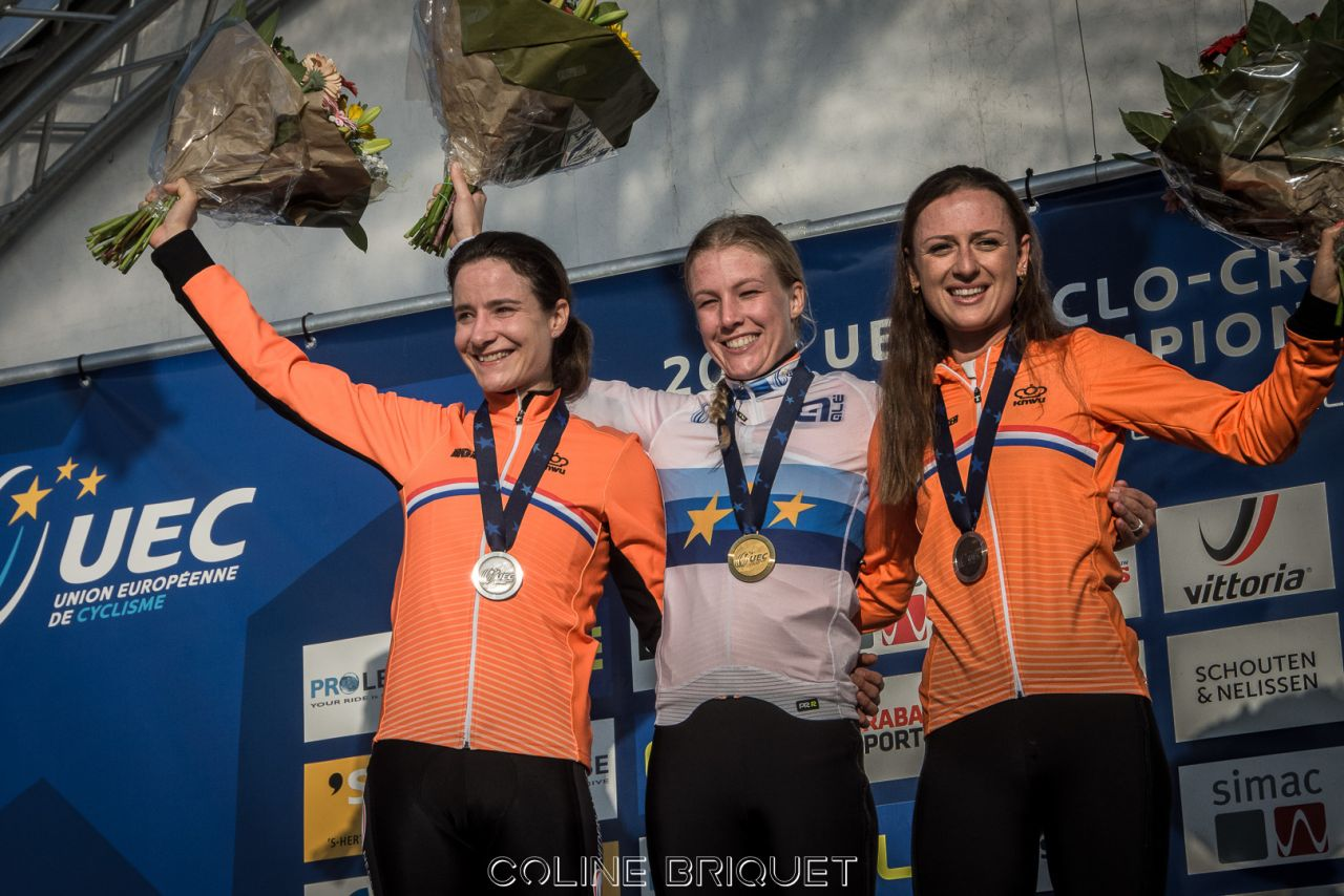 Europe CX 2018 Elites dames:  Worst malgré Vos