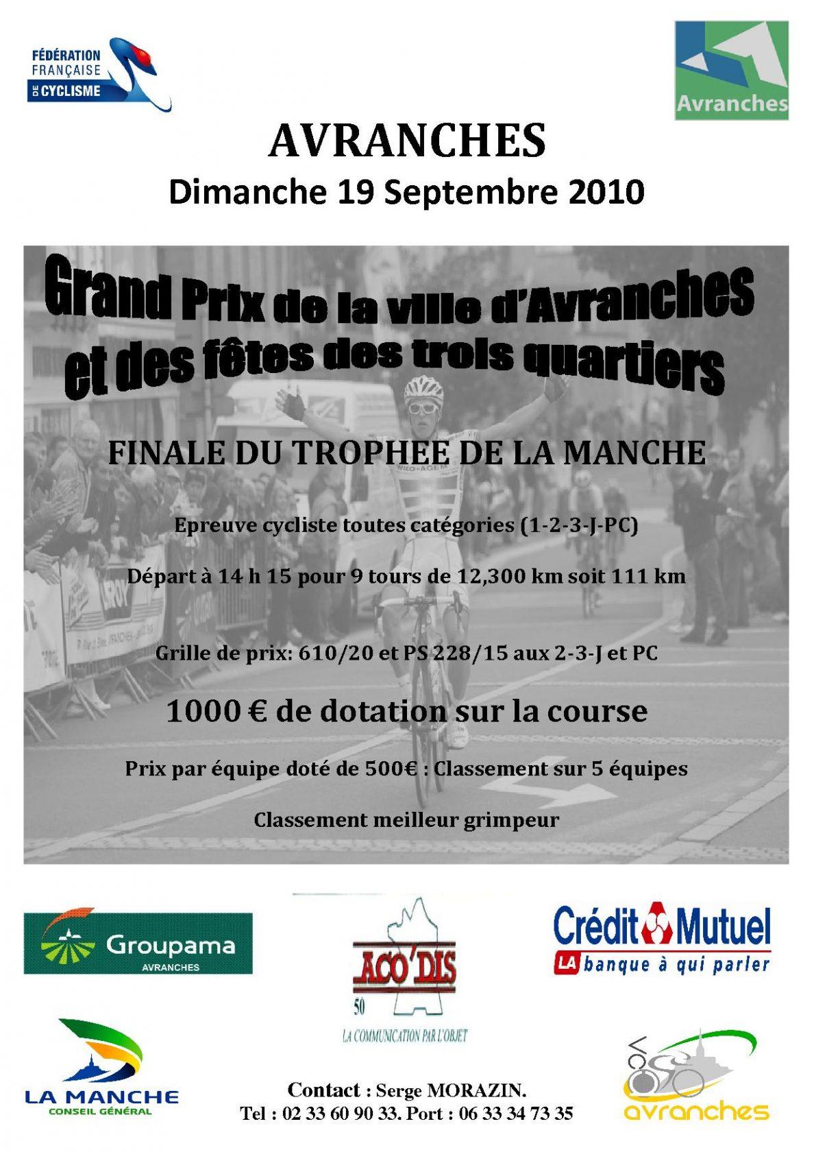 Grand Prix De La Ville D Avranches
